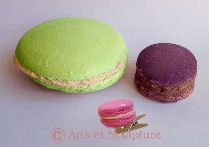 décoration de fête thème macarons - Arts et Sculpture: sculpteur, artisan d'art