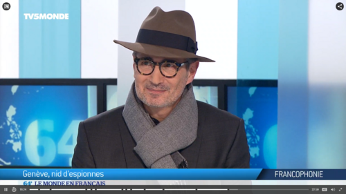 Interview Mark Zellweger TV% Monde 15.02.2018