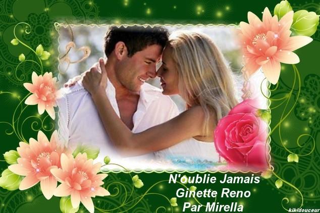 N'oublie Jamais    Ginette Reno   Par Mirella