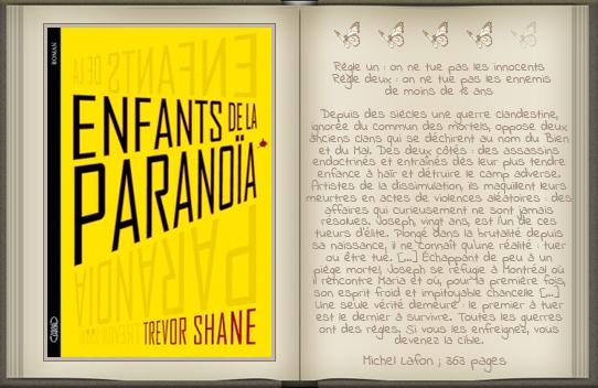 « Enfants de la paranoïa [01] » de Trevor Shane