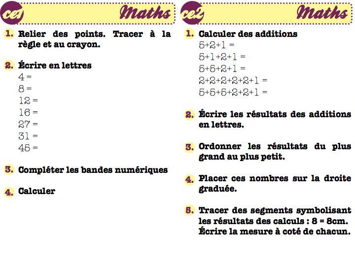 Matotablo Methode De Maths En Double Niveau Ce1 Ce2 La Classe De Bertaga