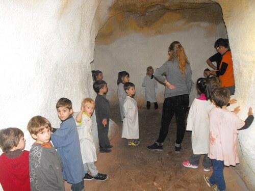 Visite de la caverne du Pont d'Arc
