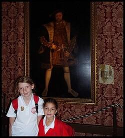 Sortie à Hampton Court Palace