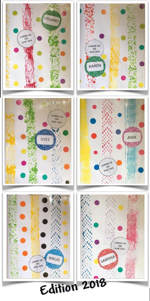 Couvertures de cahiers 2