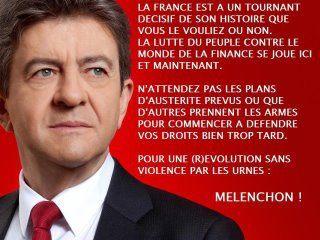 Dimanche, votons Mélenchon !