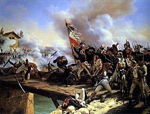 Napoleon-1796-bataille-du-pont-Arcole-armée-française-con