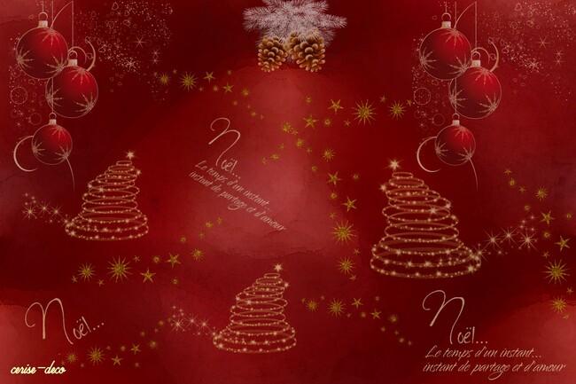 design fêtes de fin d'année et hiver