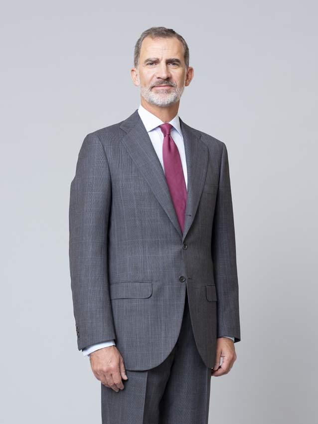 Photos officielles de la famille royale d'Espagne