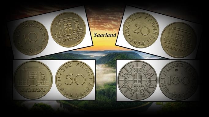les monnaies de la Sarre (Saarland)