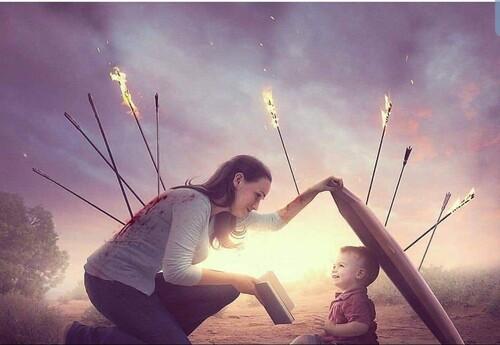 4 leçons pour vous aider à enseigner les réalités de la guerre spirituelle aux enfants