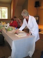 Atelier Pauline Vohl: peindre sur papier de soie