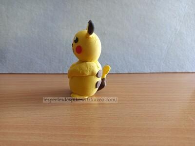 Silk Clay - Pikachu (1)