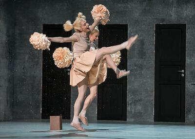 dance ballet theater dancers