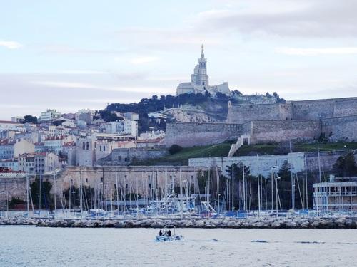 Promenade en bâteau à Marseille (photos)