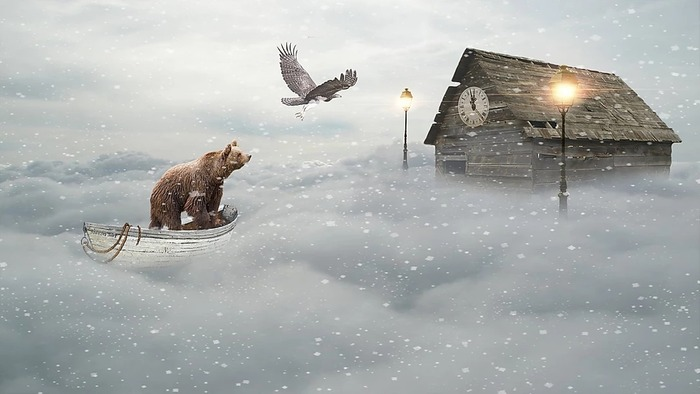 Les images surréalistes et fantastiques de Kévin Ferreira
