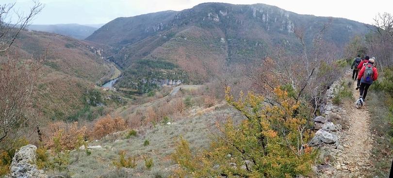 La Roque st Marguerite & les corniches