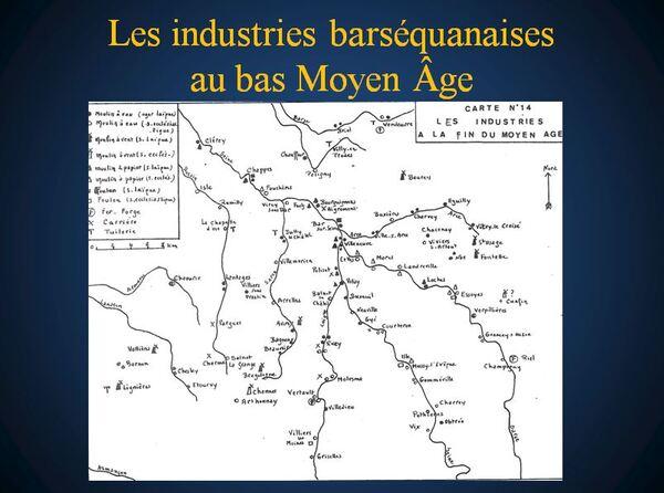 Une conférence sur la région de Bar sur Seine, à la fin du Moyen-Âge, par David Loiselet