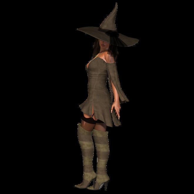 Tubes Poser Halloween