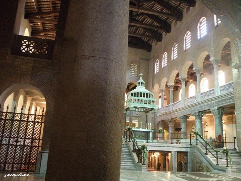 La Basilique de Saint Laurent à Rome