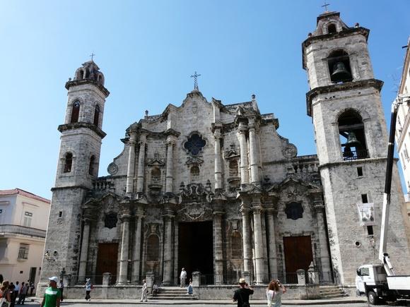la cathédrale de La Havane