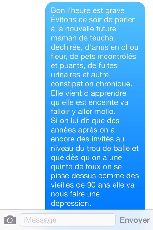 SMS de mères #4