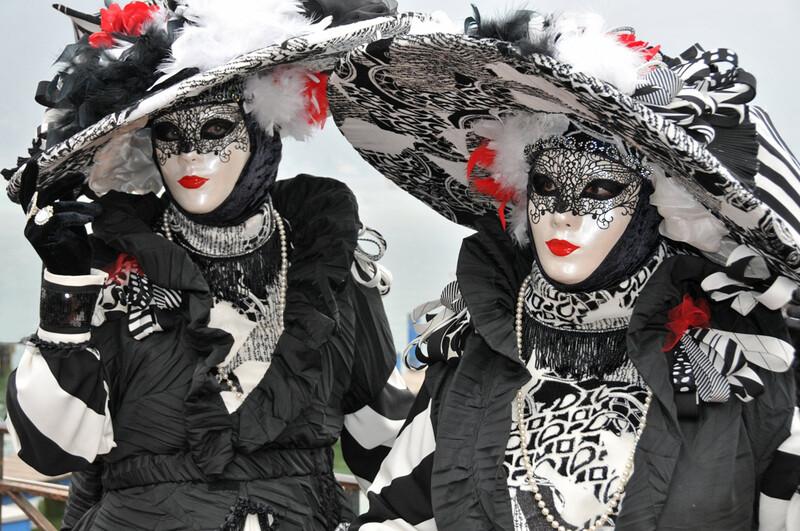 Le 18ème carnaval vénitien d'Annecy, mars 2014