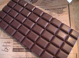 Yaourts au chocolat