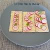 tartines apéritives aux radis