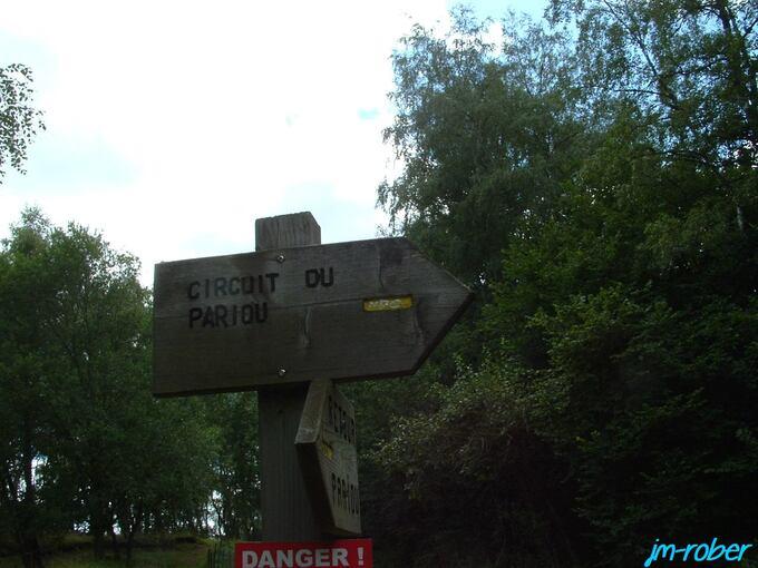 Le retour sur Limoges par la D941 pour une randonnée sur la chaîne des puys