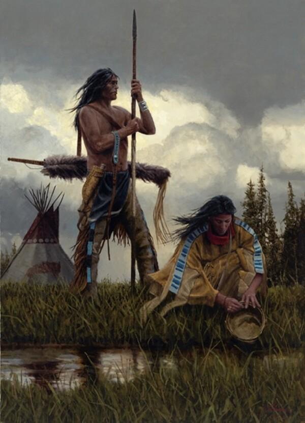 Peinture de : Joe Velasquez
