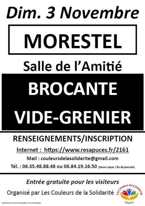 Vide grenier / Brocante