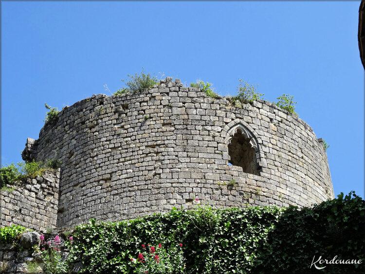 Photos du donjon du XIVème siècle - château médiéval de Langoiran