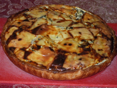 Blog de charlottopoire :Charlottopoire... mes petites créas..., Tarte aux épinards et saumon fumé