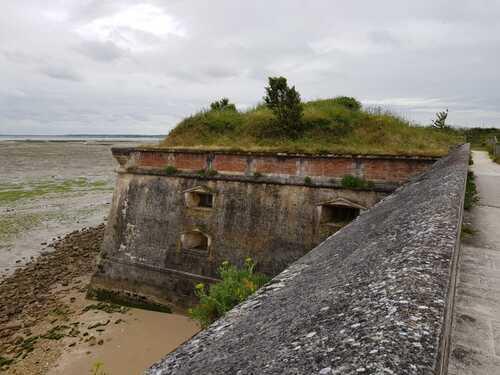 """Ile d'Oléron  Ville """"Le château d' Oléron""""  ( Charente maritime)"""
