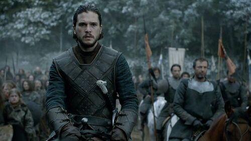 Jon Snow épisode 9