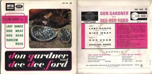 Don Gardner & Dee Dee Ford - EP Français