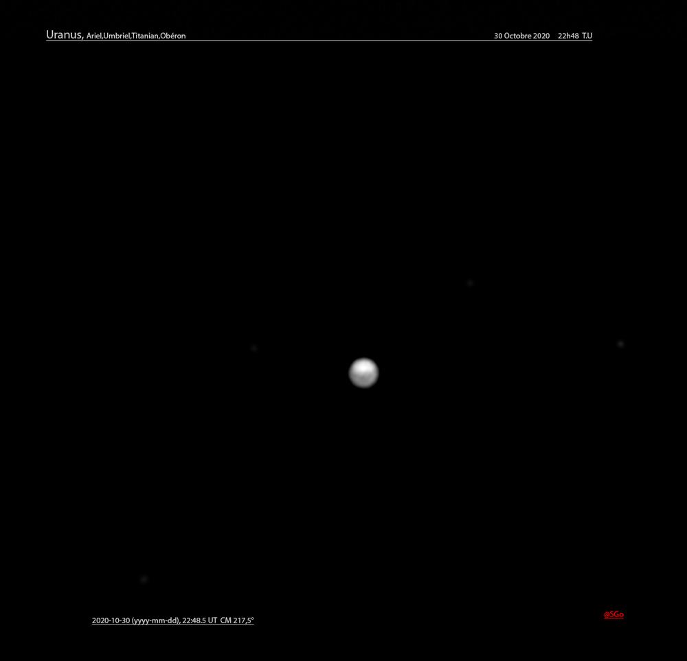 Uranus , le 30 octobre 2020
