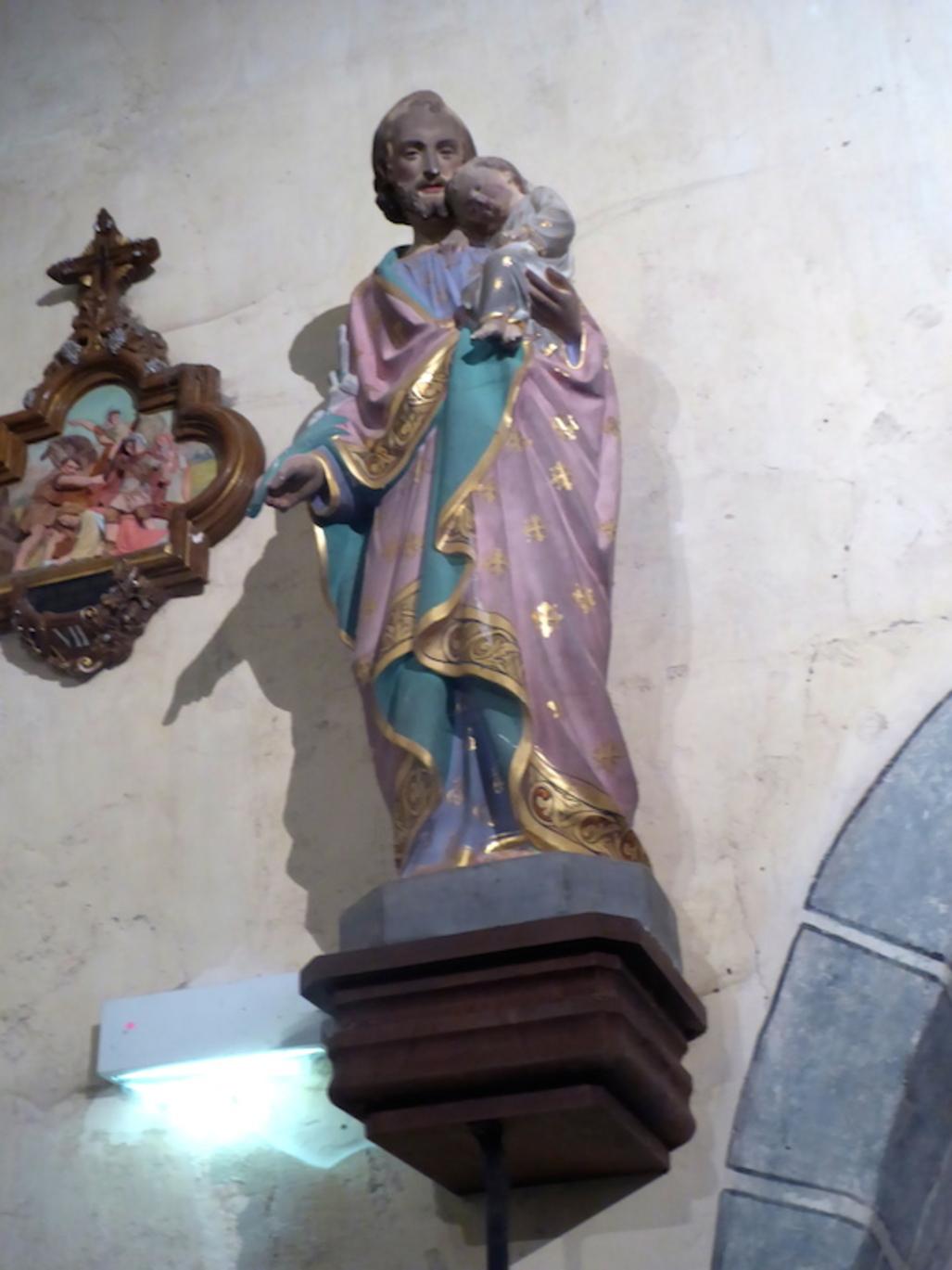 Intérieur de l'église d'Azerat suite: