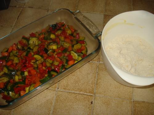 Crumble aux légumes