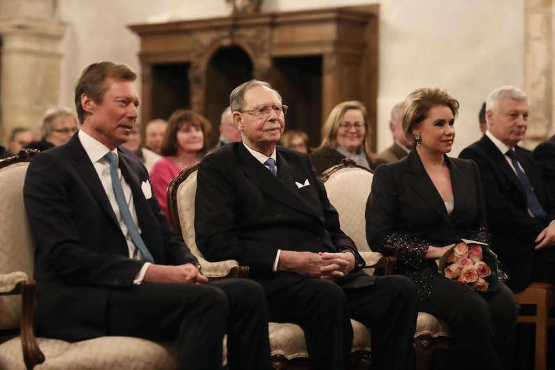 Centenaire de l'accession au Trône de la Grande-Duchesse Charlotte