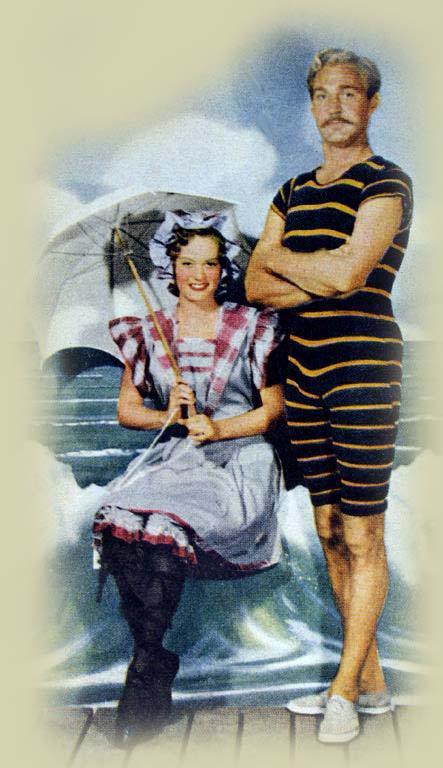 Maillot de bain de 1900 1960 la belle epoque - Maillot de bain des annees 30 ...