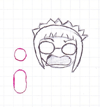 Chibi visage Meilin
