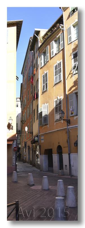Ombres et lumières du vieux Nice