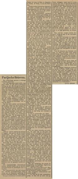 Parijsche Brieven (Tubantia 13-07-1912)