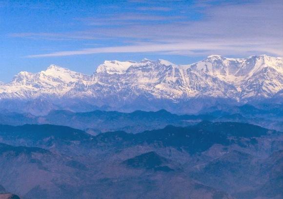 la chaine des himalayas en photo suite