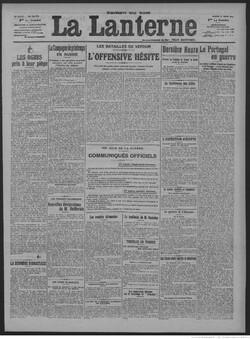 La Lanterne 25 mars 1916