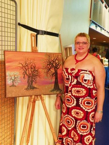 Exposition des oeuvres de Gratienne VOISIN ELOY Artiste Peintre amateur autodidacte