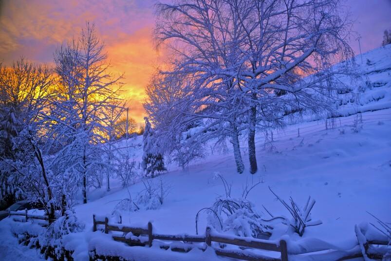 Merveilleux Paysage D'Hiver - Winter Wonderland