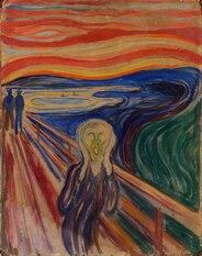 A la manière de l'artiste peintre Edvard MUNCH