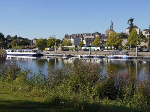 La Mayenne à Château Gontier..